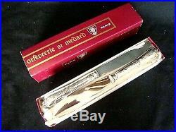 12 couteaux de table métal argenté /inox Saint-Médard modèle régence