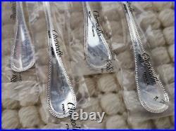 12 fourchettes à huîtres Christofle modèle Perles métal argenté