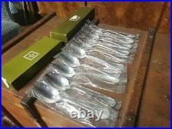 5 couverts metal argenté Christofle modèle perles(10 pièces). Neuf en blister