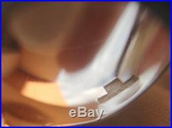 6 cuillères à dessert/café métal argenté Christofle modèle Perles