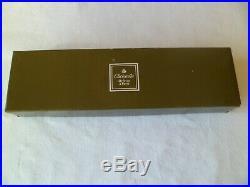 CHRISTOFLE 10 COUTEAUX DE TABLE modèle CHINON metal argenté