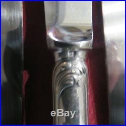 CHRISTOFLE 12 couteaux de table en métal argenté modèle marly 2