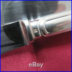 CHRISTOFLE 12 couteaux de table en métal argenté modèle spatours 5