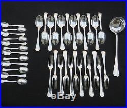 CHRISTOFLE ménagère 37 couverts en métal argenté modèle boréal 2