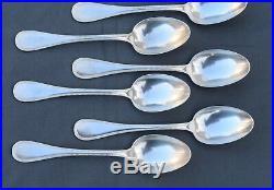 CHRISTOFLE modèle Perles en MÉTAL ARGENTÉ 12 CUILLERES DE TABLE (dinner spoon)