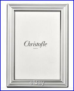 Christofle Cadre à Photo En Métal Argenté Modèle Filets Neuf Sous Blister