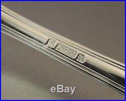 Christofle Fleuron Modele Pompadour Menagere 37 Pieces Metal Argente Vers 1970