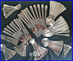@@@ Christofle Modele America Menagere 129 Pieces Metal Argente Tbe 9084 @@@