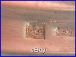 Christofle ménagère 37 pièces modèle art déco métal argenté écrin