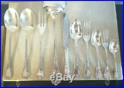 Christofle ménagère modèle Marly service 12 pièces, métal argenté silver plated