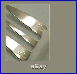 Christofle modèle América, 12 fourchettes à huitres, excellent état proche neuf
