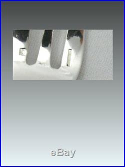 Christofle modèle Berain, 12 fourchettes à huitres, excellent état, écrin