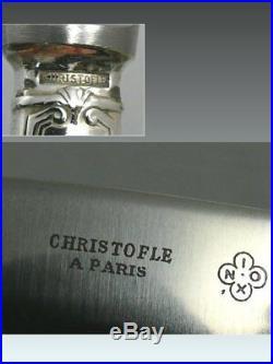 Christofle modèle Berain, 6 couteaux entremets/fromage/dessert. Lot 2/2