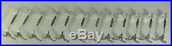 Christofle modèle Delafosse/Marie Antoinette, 12 porte-couteaux, excellent état