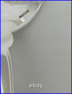 Christofle modèle Lotus, belle paire de cuillères à ragoût, excellent état