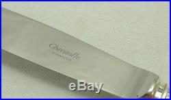Christofle modèle Malmaison, 6 couteaux de table excellent état, métal argenté