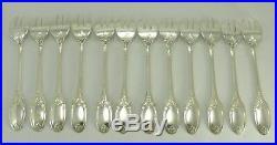 Christofle modèle Marie-Antoinette, 12 fourchettes à huitres, excellent état