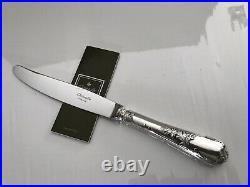 Christofle modèle Marly 12 couteaux à dîner en métal argenté