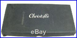 Christofle modèle Marly 12 couteaux de table excellent état, métal argenté boite