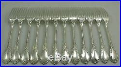 Christofle modèle Marly, 12 couverts de table, 24 pièces, excellent état, écrin