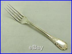 Christofle modèle Marly, 12 fourchettes de table, métal argenté, Table Foks