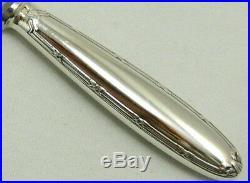 Christofle modèle Rubans, 6 couteaux à entremets/dessert/fromage, métal argenté
