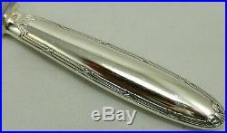 Christofle modèle Rubans, 6 couteaux de table, métal argenté