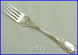 Christofle modèle Trianon, 8 superbes fourchettes à poisson/fish or salad forks