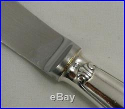 Christofle modèle Vendôme/Arcantia, 12 couteaux de table, métal argenté, écrin