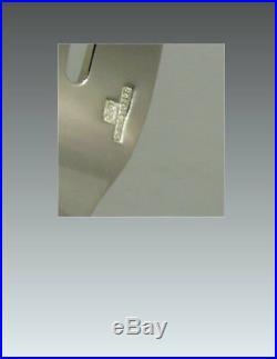 Christofle modèle Villeroy, 12 fourchettes à huitres, Olster Forks parfait état