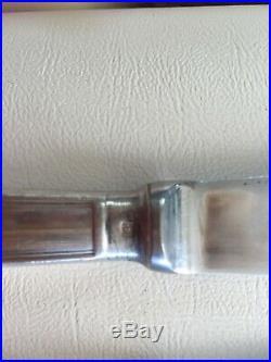Couteaux christofle en métal argenté model albi 24cm