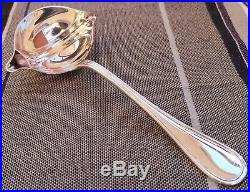 Cuillère à sauce gras/maigre en métal argenté modèle ALBI Christofle