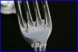 ERCUIS Belle Ménagère 8 personnes métal argenté modèle FILETS CONTOURS