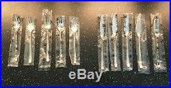 ERCUIS MODELE HORIZON 5 couverts poisson métal argenté