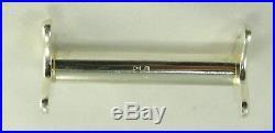 Ercuis modèle Sully, Louis XV, 12 porte couteaux métal argenté, excellent état