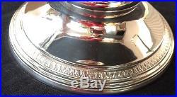 Grande soupière en métal argenté modèle à Palmettes