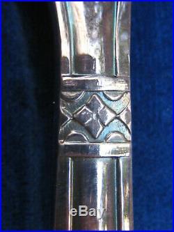 MENAGERE ancienne 37 PIECES ARGENTERIE ART DECO modèle GRAND PRIX années 20