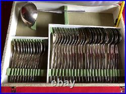 Ménagère 37 Pièces Christofle Modèle Orly Metal Argenté