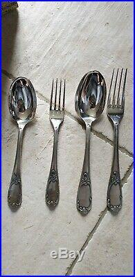 Menagere En Metal Argente 116 Pieces Francois Frionnet Modele Varennes Louis XV