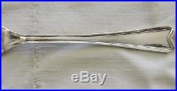 Menagere En Metal Argente Christofle Modele Art Deco Chevron 37 Pieces