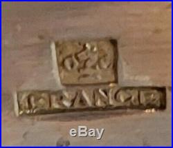 Ménagère Métal argenté CHRISTOFLE FRANCE modèle Marly 37 Pieces