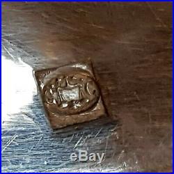 Ménagère en métal argenté 37P CHRISTOFLE modèle GORGE monogramme VM en coffret