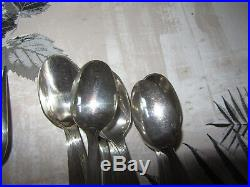 Ménagère en métal argenté 37P CHRISTOFLE modèle SAIGON CIRTA cheval OC+COURONNE