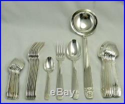 Ménagère en métal argenté, modèle Grand Prix, 25 pièces, pour 8 personnes