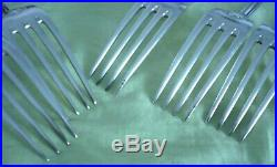 Ménagère métal argenté modèle PERLES 61 pièces St-Médard (couverts+couteaux)