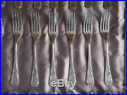 Partie de ménagère métal argenté Alfénide / Christofle modèle TOSCA 32 pièces