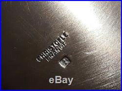 Petit légumier christofle métal argenté modèle malmaison