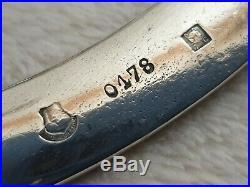 Plateau de service en métal argenté CHRISTOFLE GALLIA modéle coquille ref 817a