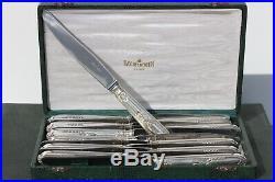 RAVINET D'ENFERT MENAGERE 37 PIECES + 12 COUTEAUX 25 cm MODELE AUX FLAMBEAUX