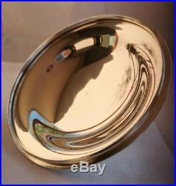Ravissant légumier en métal argenté modèle contours Félix Frères